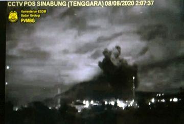 Gunung Sinabung Kembali Bergejolak, Awas Erupsi Susulan