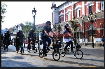 Demam Gowes, KNPI Jabar Dorong Pemda Siapkan Fasilitas bagi Pesepeda