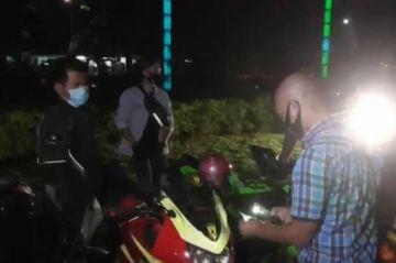 Tengah Malam Polrestabes Medan Gelar Razia, Pelanggar Kocar-kacir