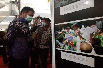 Pameran Foto Kilas Balik 2018-2019, Herman Deru Apresiasi Pewarta Foto Palembang