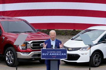 Joe Biden Ganti 645.000 Mobil Dinas dengan Mobil Listrik Amerika