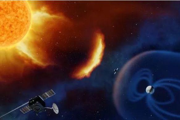 Badai Matahari Hantam Bumi dengan Kecepatan 1,8 Juta Kilometer Per Jam