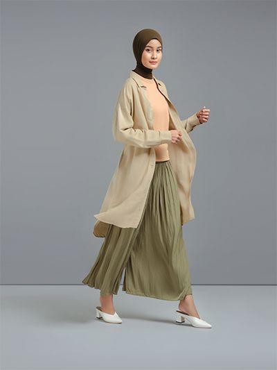 Inspirasi Gaya Modest Wear untuk Hijaber