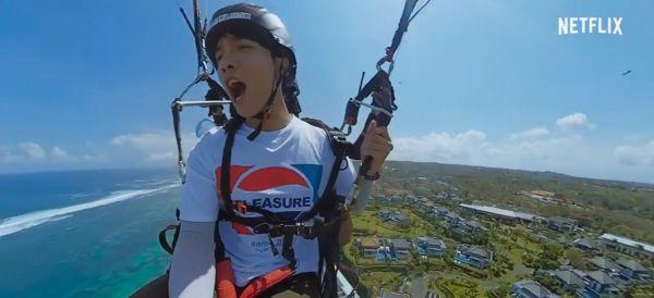 Dari Cliff Diving sampai Kado Piyama, Ini Momen Seru Seung-gi dan Jasper Liu dalam Twogether