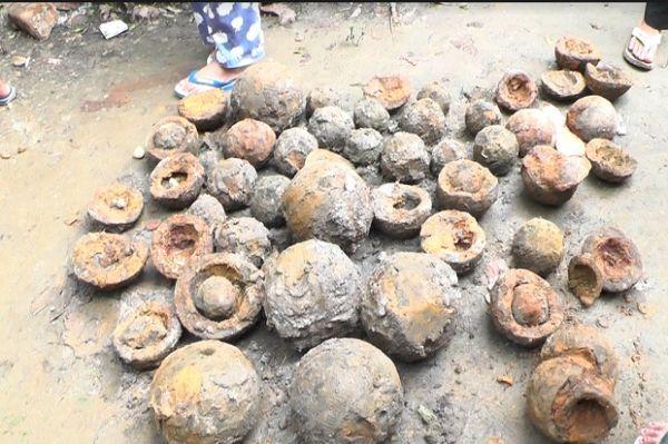 Ratusan Peluru Meriam Diduga Peninggalan Tuanku Imam Bonjol Ditemukan