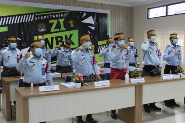 Imigrasi Polewali Mandar Optimistis Raih Predikat Zona Integritas WBK