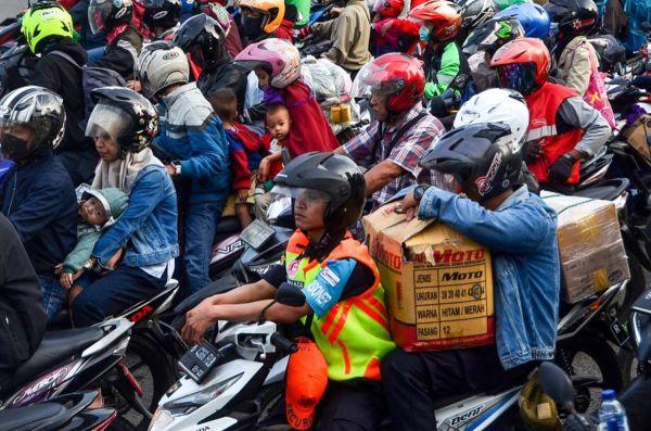 """""""Surga"""" Sepeda Motor di Dunia, Indonesia Urutan Ketiga"""