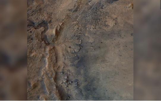 Hermosas fotos del Valle de los Jesuitas, el sitio del diligente aterrizaje de la NASA en Marte