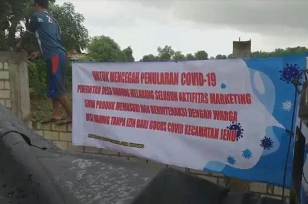 Warga Desa Miliarder di Tuban Kini Larang Sales Masuk ke Kampung
