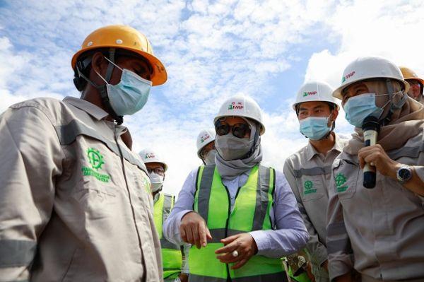 Ke Maluku Utara, Menaker Ida Fauziyah Berharap Ada Peningkatan SDM