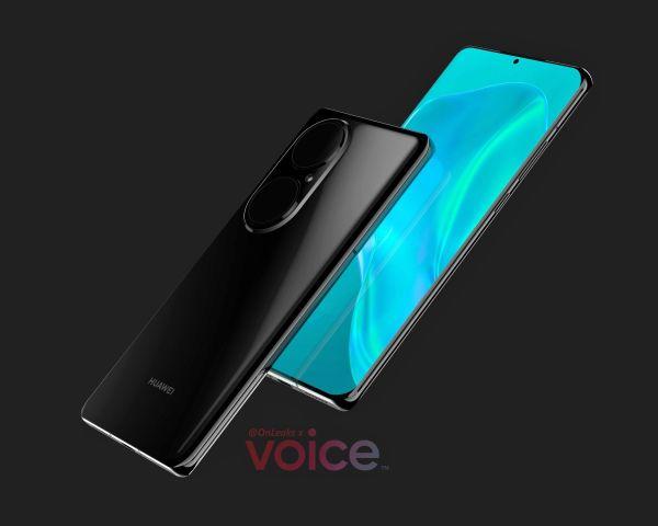 Las fugas de renderizado del Huawei P50 Pro revelan un diseño de teléfono móvil muy impresionante