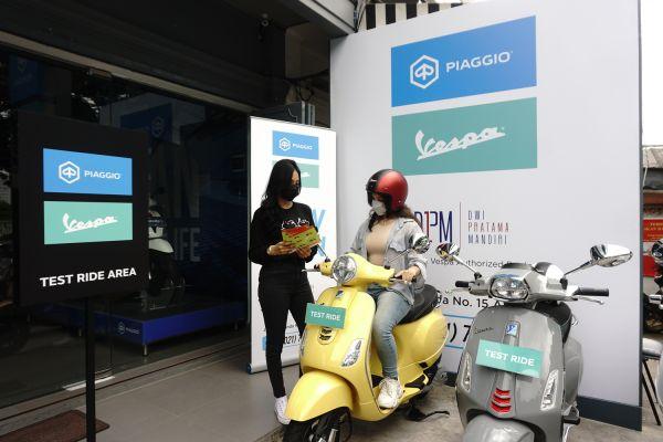 Mewah dan Canggih, Ini 4 Keunggulan Diler ke-42 Piaggio Indonesia di Depok