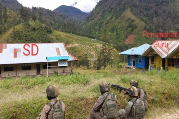 OPM Kembali Tebar Teror di Ilaga! Gedung SD, Rumah Guru dan Puskesmas Dibakar