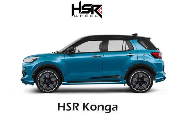 HSR Wheel Siapkan Pilihan Velg Keren Buat Rocky, Raize dan City Hatchback