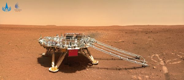 Imágenes planas y rocosas, espectaculares de la superficie de Marte, fueron lanzadas en China
