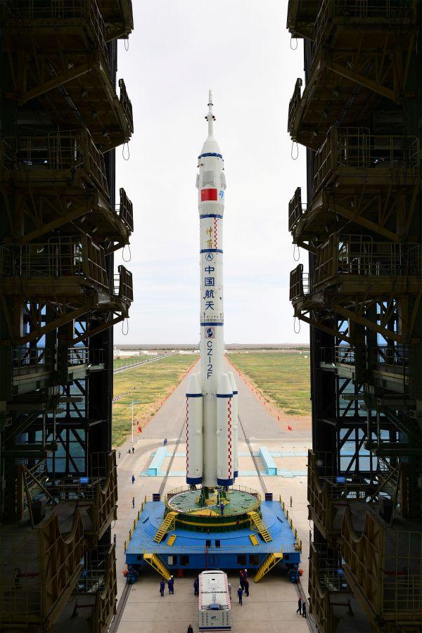 China lanza misión espacial Mandate para construir la estación espacial Tianhe