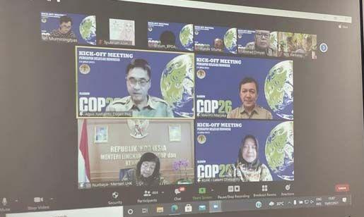 Jelang COP UNFCCC ke-26, Menteri LHK Beri Arahan pada Calon Delegasi RI