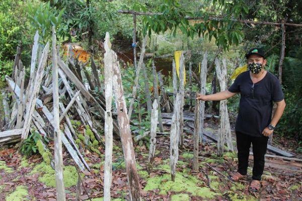 Kisah Buaya Kuning Penjaga dan Suku Dayak Tunjung