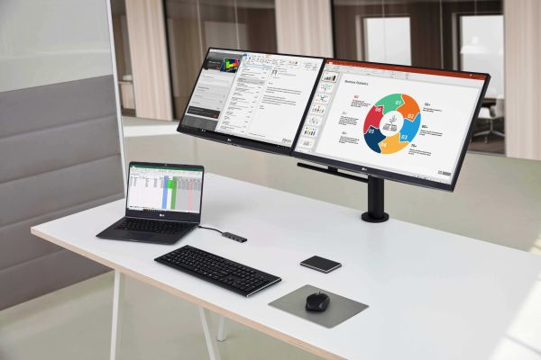 Especificaciones y formas especiales de usar el monitor LG Ergo 2021