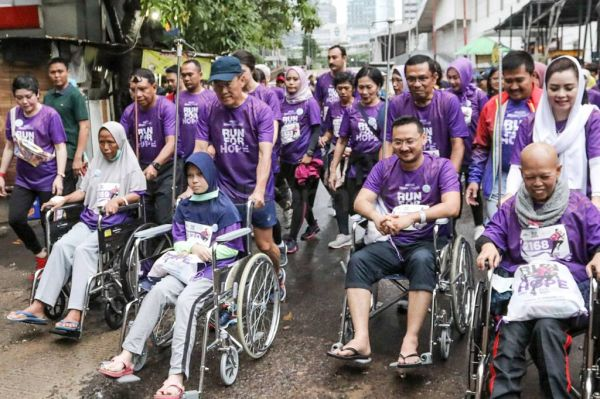 3.000 Peserta Ikuti MRCCC Run For Hope