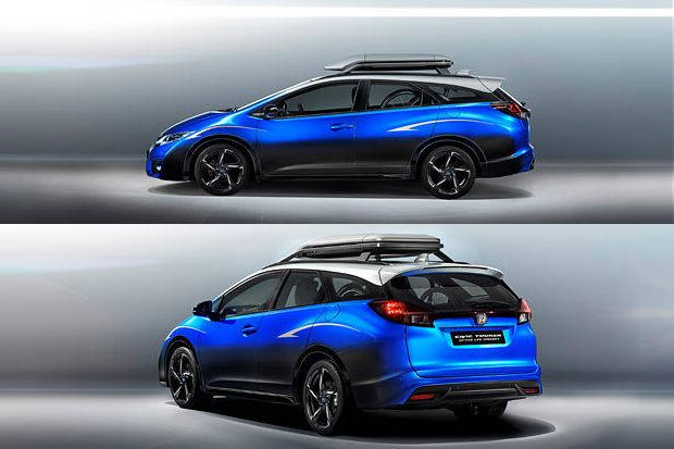 Honda Civic Tourer >> Honda Civic Tourer Active Life Concept Tampil Perdana