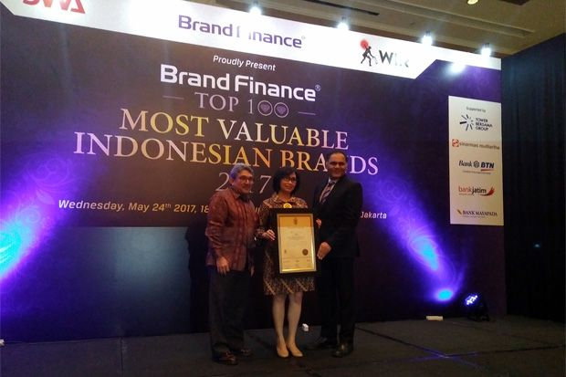 MNC Raih Top 100 Most Valuable Indonesian Brands 2017