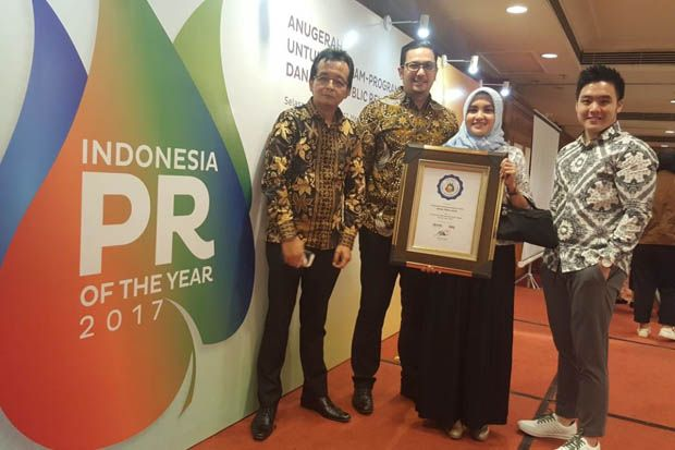 Sinar Mas Land Kembali Raih The Best Corporate Communication Team