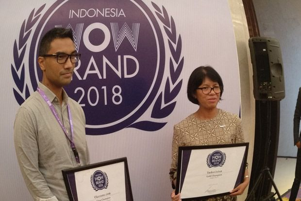 Dua Brand dari MNC Group Raih Indonesia WOW Brand 2018