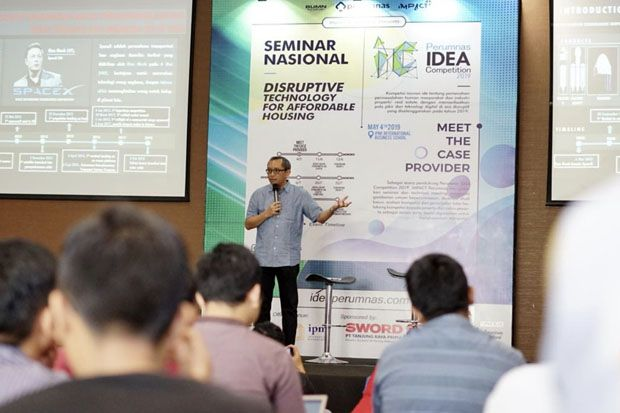 Menjaring Ide Baru di Era Digital, Perumnas Gelar Idea Competition 2019