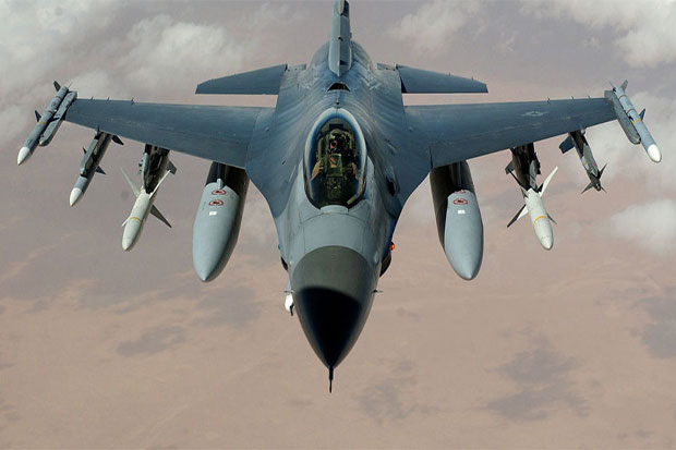 US Air Force F16 Jet Crashes in Southwestern Germany
