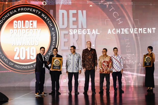 Produk Milenial Paramount Land Raih Golden Property Awards 2019