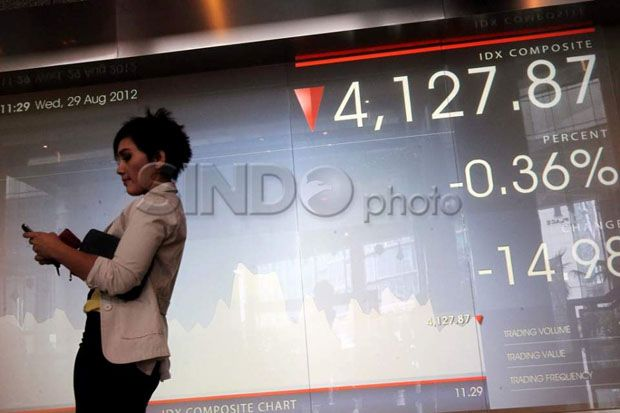 IHSG Ditutup Memerah ke Level 6.183, Bursa Asia Mixed