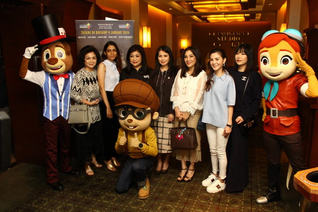 Nobar Titus: Mystery of The Enygma, Liliana Tanoesoedibjo: Animasi Indonesia Bisa Go International