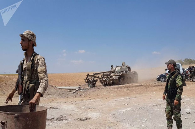 Syrian Army Goes on Counter-Offensive in Syria - Russian Centre for Reconciliation