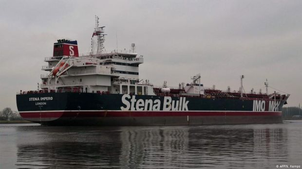 Britain calls Stena Impero oil tanker seizure hostile act as Iran releases video of capture