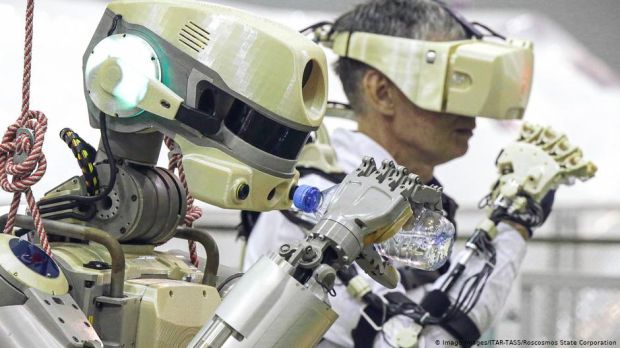 Russia sends robot Fedor into space for mission with ISS