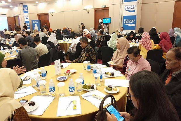 Pocari Sweat Medical Discussion, Ajak Tekan Penderita Demam Berdarah