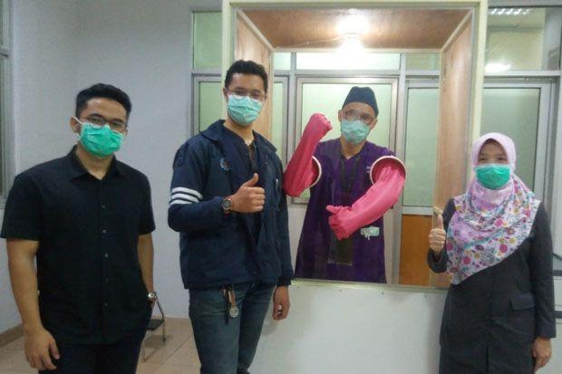 Himpunan FT Mesin ITB Serahkan Bantuan Swab Chamber ke RSUD Cibabat