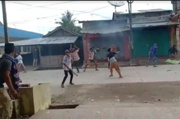 Tak Kapok, Dua Kelompok Remaja Kelurahan Tanjung Tiram Tawuran