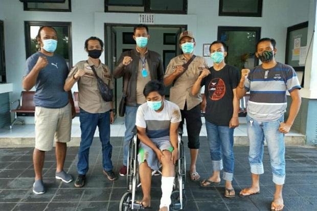 Melawan, Pembobol Kantor Dinas Sosial di Pagaralam Terpaksa Didor