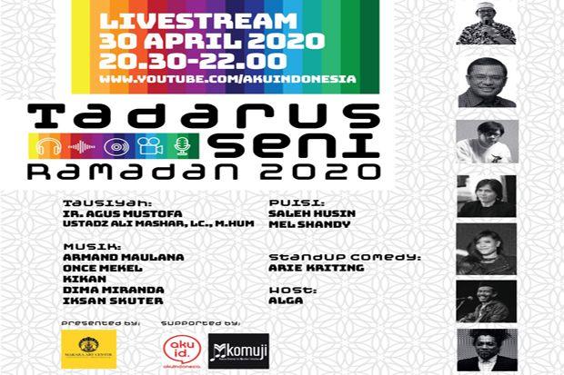 MAC UI dan Komuji Jakarta Gelar Tadarus Seni Ramadhan 2020