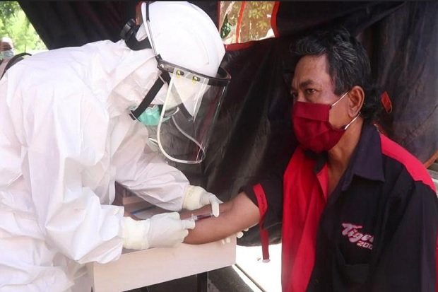 Diperiksa Massal, 5 Pedagang di Jayapura Positif COVID-19 Hasil Rapid Test