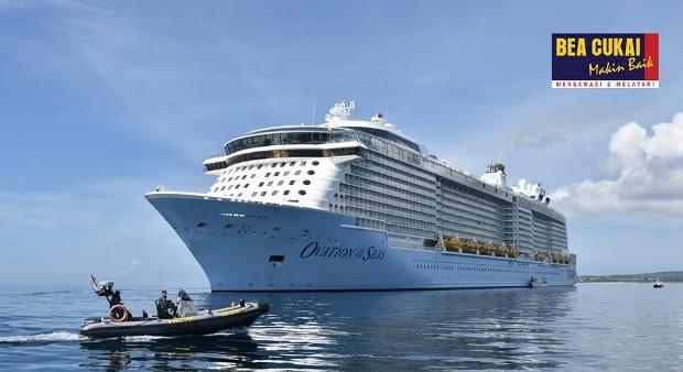 Bea Cukai Denpasar Kawal Kepulangan Pekerja Migran Indonesia ABK Royal Caribbean Cruise