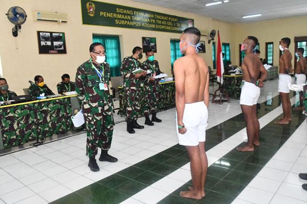 Pandemi Covid-19, Seleksi Calon Tamtama TNI AD Sempat Ditunda