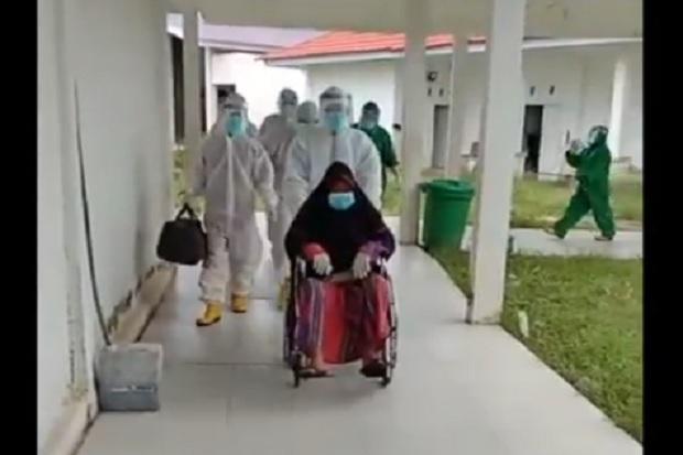 Sembuh, Seorang Pasien Positif COVID-19 di Wajo Diperbolehkan Pulang