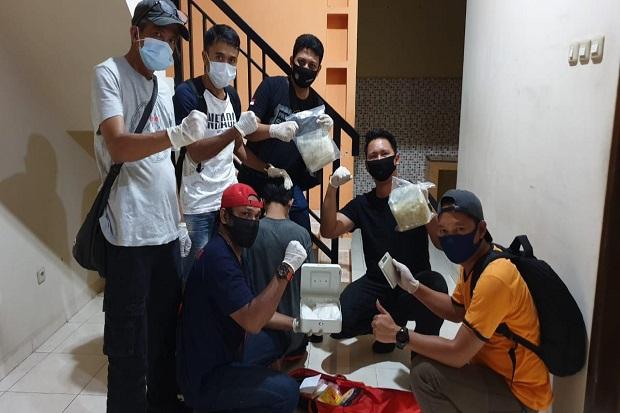 Gerebek Dua Rumah di Jakarta Pusat, Polisi Sita Ribuan Gram Sabu