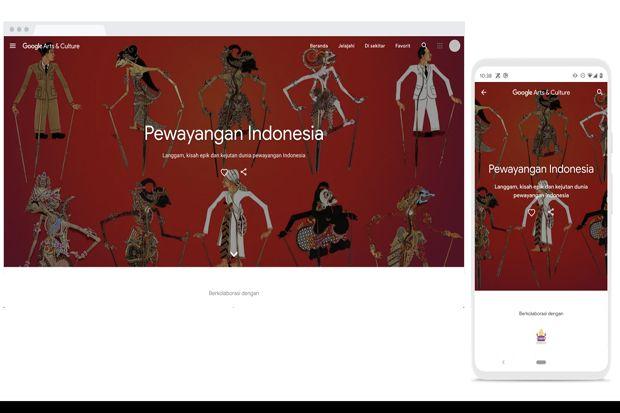 Google Arts and Culture Angkat Cerita Wayang ke Dunia Maya