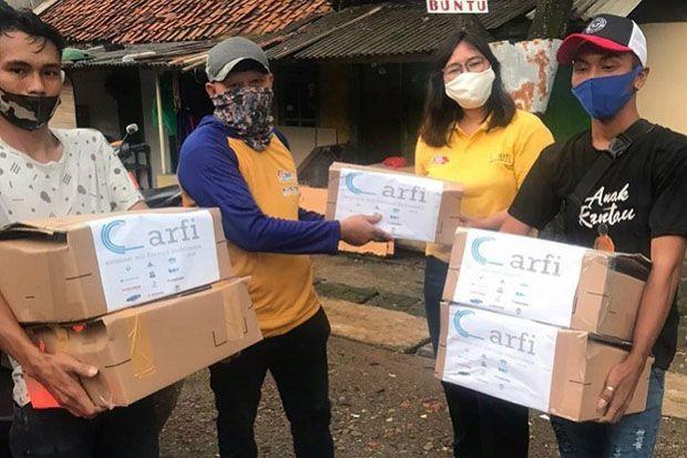 Gotong Royong Atasi Covid-19, ARFI Berikan Sembako untuk Pekerja Konstruksi