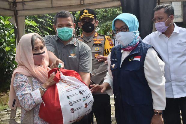 Kemensos Janjikan Bantuan Uang Tunai untuk 7.222 Warga Bogor
