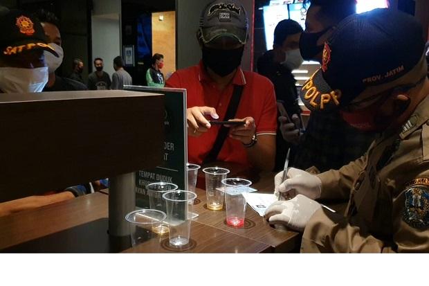 Langgar Jam Malam, Satpol PP Jatim Tindak 9 Restoran Siap Saji dan Cafe
